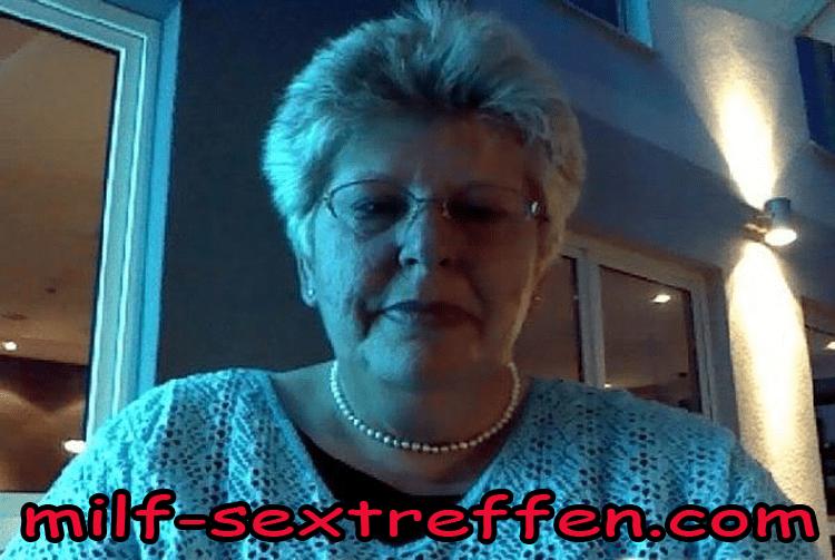 Auch Oma 60 plus steht auf Arschfick