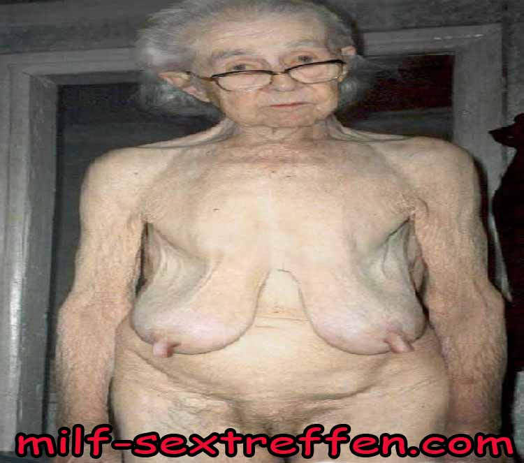 Scheintote alte Oma will nochmal ficken