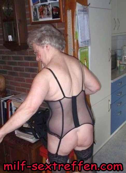 Sextreffen mit deutsche Milf 70 plus